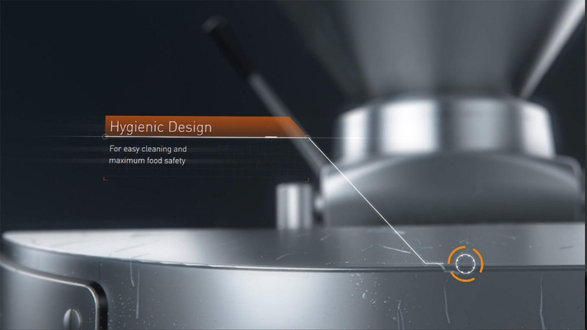 VF800 - Hygienic Design