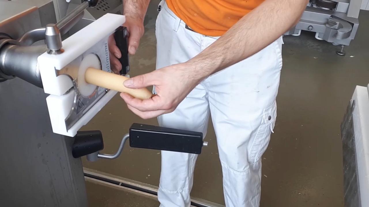 Production of Pretzel Dough